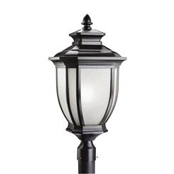 Kichler Lighting 9940BK Outdoor Post Mt 1Lt
