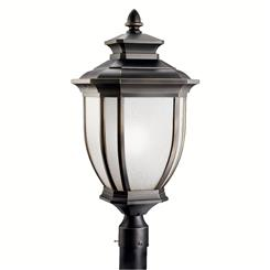 Kichler Lighting 9940RZ Outdoor Post Mt 1Lt