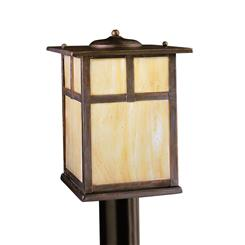 Kichler Lighting 9953CV Outdoor Post Mt 1Lt