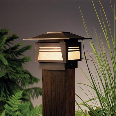 Kichler Lighting 15071OZ Deck Post 1-Lt 12V