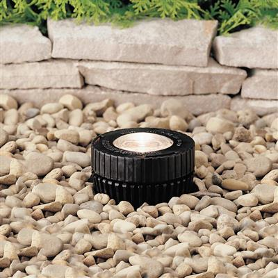 Kichler Lighting 15190BK In-Ground 1-Lt 12V