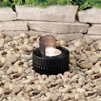 Kichler Lighting 15192BK In-Ground 1-Lt 12V