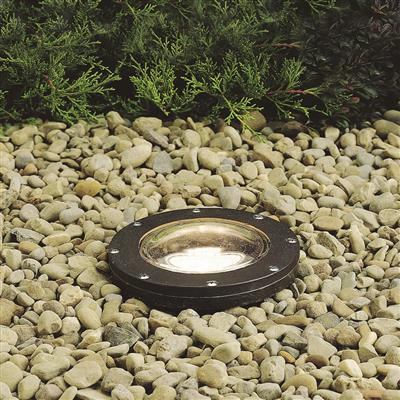 Kichler Lighting 15268AZ Small In-Ground PAR20/PAR30 Well Light Architectural Bronze