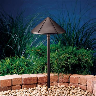 Kichler Lighting 15328AZT Path & Spread 1-Lt 12V