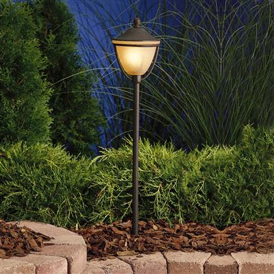 Kichler Lighting 15367TZT Path & Spread 1-Lt 12V