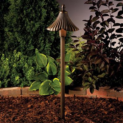 Kichler Lighting 15379OZ Path & Spread 1-Lt 12V