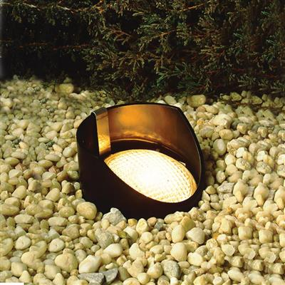 Kichler Lighting 15388BK In-Ground 1-Lt 12V