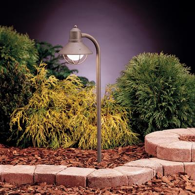 Kichler Lighting 15438OB Path & Spread 1-Lt 12V