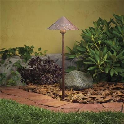 Kichler Lighting 15443TZT Lace Path & Spread 1-Lt 12V