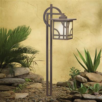 Kichler Lighting 15444OZ Larkin Estate™ 12V Path Light - Olde Bronze