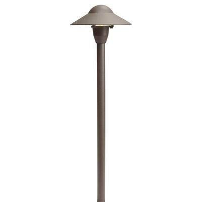 Kichler Lighting 15470AZT Dome Path Light 6in