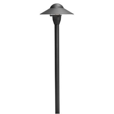 Kichler Lighting 15470BKT Dome Path Light 6in