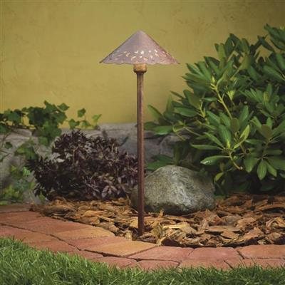 Kichler Lighting 15471TZT Cast Aluminum Hammered Roof