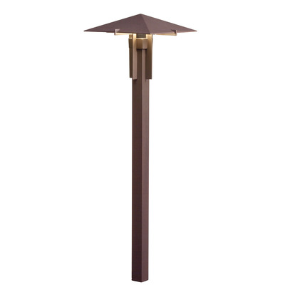 Kichler Lighting 15803AZT30R Forged 3000K LED Path Light Textured Architectural Bronze