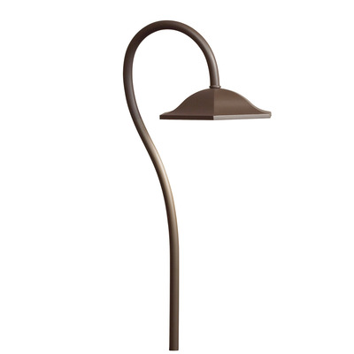 Kichler Lighting 15807AZT27R LED SHEPHERDS CROOK PATH LIGHT