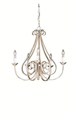 Kichler Lighting 2021NI Dover™ 5 Light Chandelier Brushed Nickel