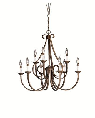 Kichler Lighting 2031TZ Chandelier 9Lt