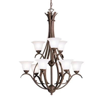 Kichler Lighting 2520TZ Dover™ 9 Light Chandelier Tannery Bronze™