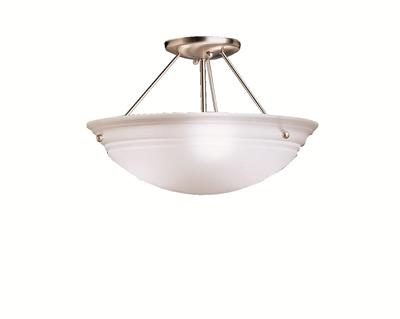 Kichler Lighting 3122NI Semi Flush 3Lt