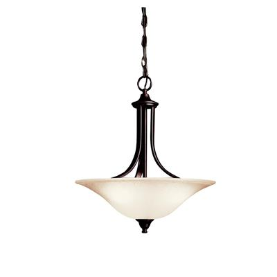 Kichler Lighting 3502TZ Dover™ 3 Light Convertible Inverted Pendant Tannery Bronze™