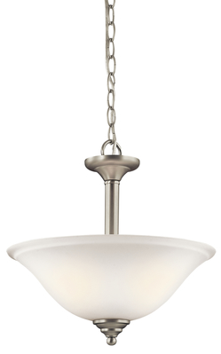 Kichler Lighting 3694NIW Pendant/Semi Flush 2Lt