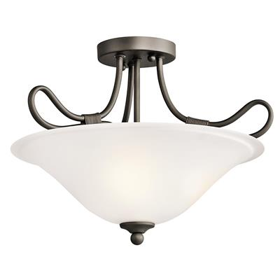 Kichler Lighting 3757OZ Pendant/Semi Flush 2Lt