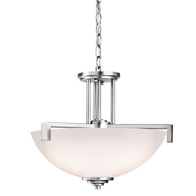 Kichler Lighting 3797CH Pendant/Semi Flush 3Lt