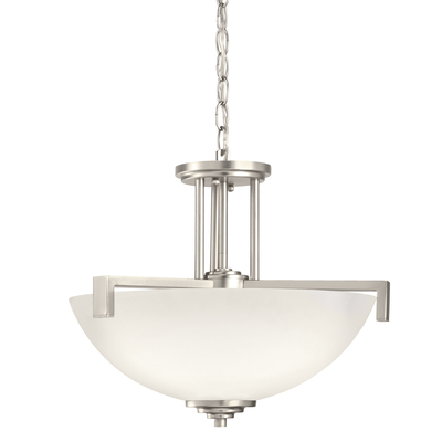 Kichler Lighting 3797NI Pendant/Semi Flush 3Lt