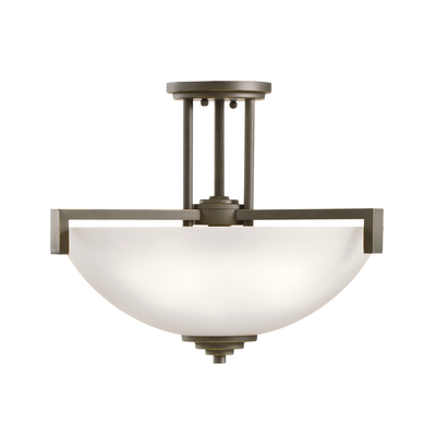 Kichler Lighting 3797OZS Pendant/Semi Flush 3Lt