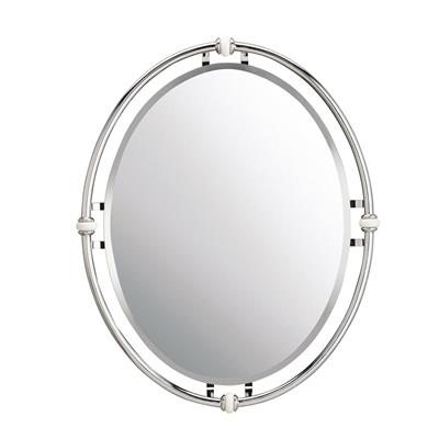 Kichler Lighting 41067CH  POCELONA COLLECTION Pocelona™ Vintage Mirror Chrome