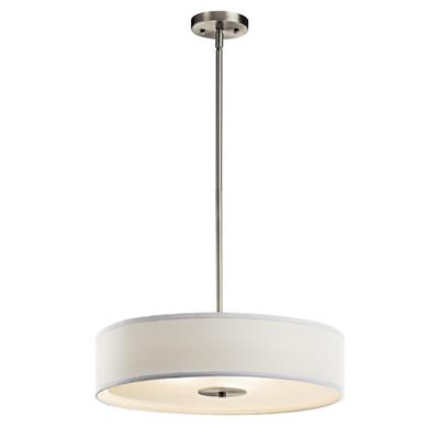 Kichler Lighting 42121NI Pendant/Semi Flush 3Lt