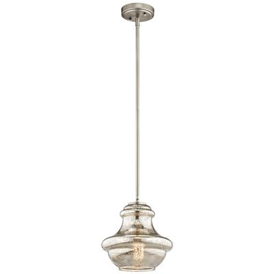 Kichler Lighting 42167NIMER Mini Pendant 1Lt