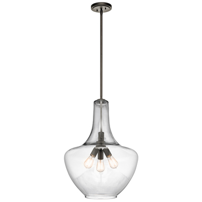 Kichler Lighting 42198OZ Pendant 3Lt
