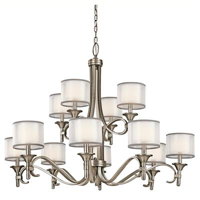 Kichler Lighting 42383AP Chandelier 12Lt