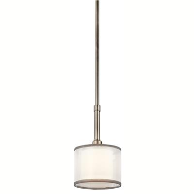 Kichler Lighting 42384AP Lacey™ 1 Light Mini Pendant Antique Pewter