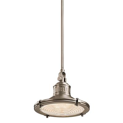 Kichler Lighting 42436AP Sayre™ 1 Light Mini Pendant Antique Pewter