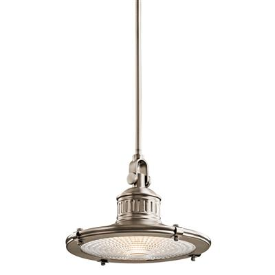 Kichler Lighting 42437AP Sayre™ 1 Light Pendant Antique Pewter
