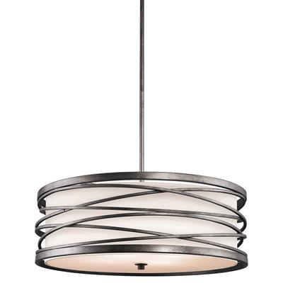 Kichler Lighting 42465WMZ Krasi™ 4 Light Pendant Warm Bronze