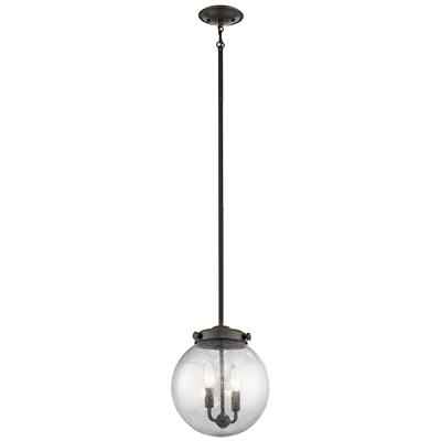Kichler Lighting 42588OZ Holbrook 2 Light Mini Pendant Olde Bronze®