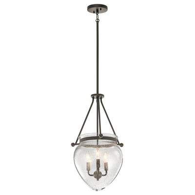 Kichler Lighting 42592OZ Foyer Pendant 3Lt