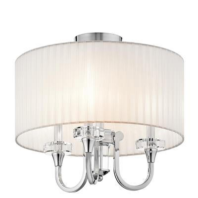 Kichler Lighting 42630CH CLEARANCE SALE - Parker Point™ 3 Light Convertible Chandelier Chrome
