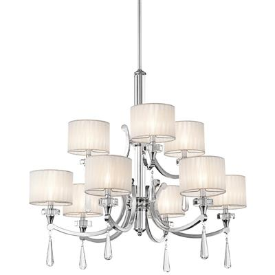 Kichler Lighting 42633CH CLEARANCE SALE - Parker Point™ 9 Light Chandelier Chrome