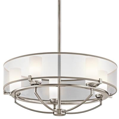 Kichler Lighting 42921CLP Chandelier 5Lt Halogen