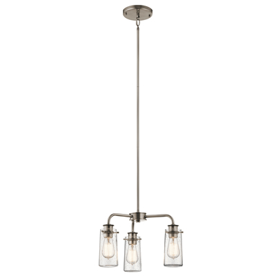 Kichler Lighting 43057CLP Chandelier/Semi Flush 3Lt