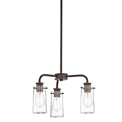 Kichler Lighting 43057OZ Chandelier/Semi Flush 3Lt