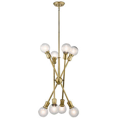 Kichler Lighting 43118NBR Chandelier 8Lt