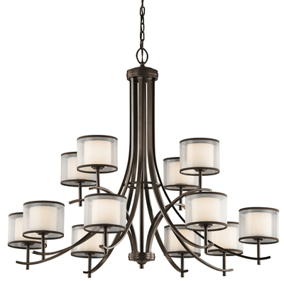 Kichler Lighting 43151MIZ Chandelier 12Lt
