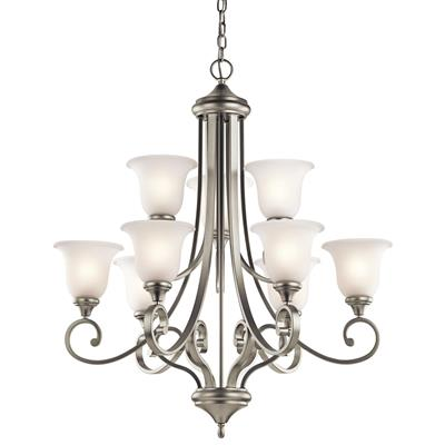 Kichler Lighting 43159NI Chandelier 9Lt