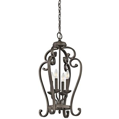 Kichler Lighting 43165OZ Large Foyer Pendant 4Lt