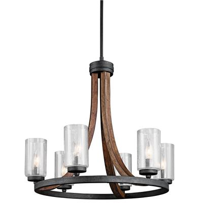 Kichler Lighting 43193AUB Chandelier 6Lt